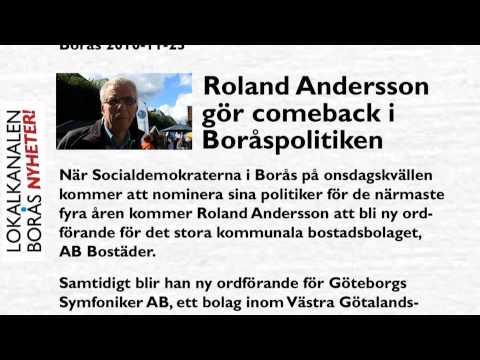 Roland Andersson gör comeback i Boråspolitiken.wmv