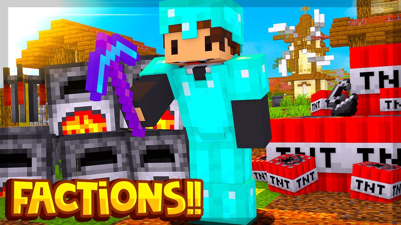 *NOVO SERVIDOR DE FACTIONS COM MISSÕES E VIP FREE (1.8.8/1.8.9) ‹ SEMYBR › - download from YouTube for free