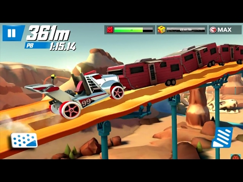 Hot Wheels: Race Off - Levels 41 - 50 (Android)