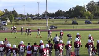 Clark Middle School vs. HKT Middle School (Football - 2014)