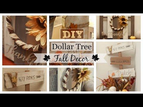 Dollar Tree DIY | Fall Farmhouse Decor