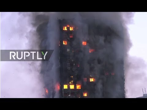 LIVE: Huge fire rips through tower block on Latimer Road, west London