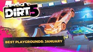 DIRT 5 | More AMAZING Custom Race Arenas | Best Playgrounds, January 2021