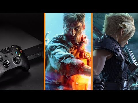 Discless Xbox Next Year? + Delaying Battlefield V Hurt EA + Final Fantasy 7 Remake Progressing
