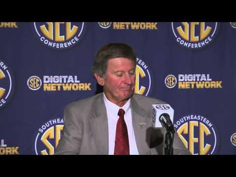 2013 SEC Football Media Days - Steve Spurrier - South Carolina Head Coach
