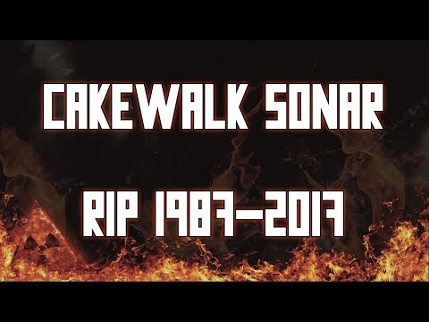R.I.P Cakewalk Sonar 1987-2017 (Employees Railroaded?)
