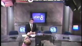 Hurricane Andrew - WVUE/WDSU/WWL New Orleans Coverage - 8/25/1992