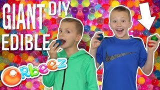 GIANT Edible Orbeez || Orbeez Crush Food Challenge