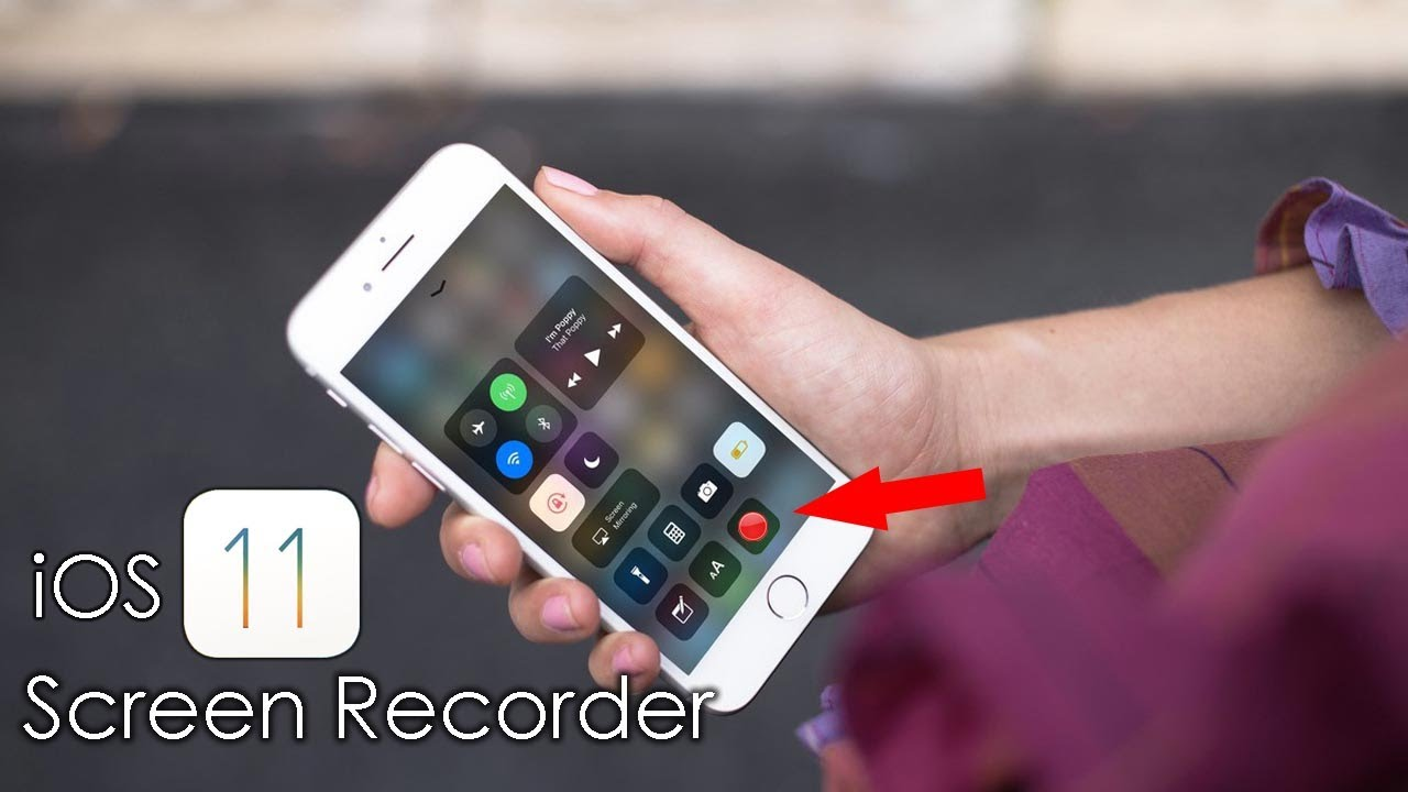 how to add screen recording ios 11
