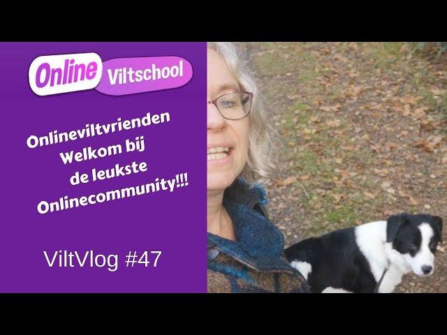 Viltvlog #47 Onlineviltvrienden Welkom bij de leukste online community!!!