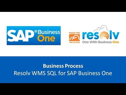 Achieve Warehouse Management for SAP Business One