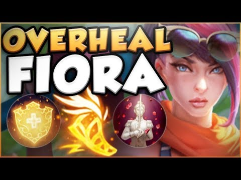 WTF RIOT?? NO NERFS YET?! KOREAN OVERHEAL FIORA OP! FIORA SEASON 8 TOP GAMEPLAY! - League of Legends