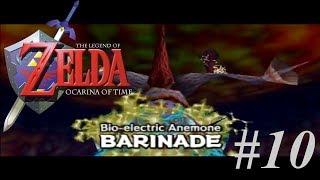 Vamos jogar - The Legend of Zelda: Ocarina of Time #10 - dentro do Sr. Jabu-Jabu e Barinade!