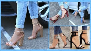 Trendy Summer High Heels Shoes Collection 2018 || Latest Heel Sandals For Girls || Shoes For Girls