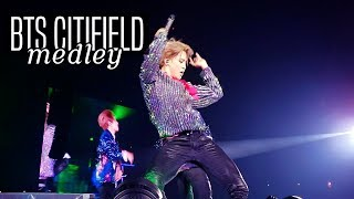 BTS FULL MEDLEY |  BAEPSAE!! + DNA, ATTACK ON BANGTAN, FIRE, DOPE | CITI FIELD FANCAM 10.06.18
