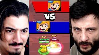 Yeni Mod Geldi! (1vs1) 👑YBJ vs LAZ👑 Kim Daha PRO?  Brawl Stars