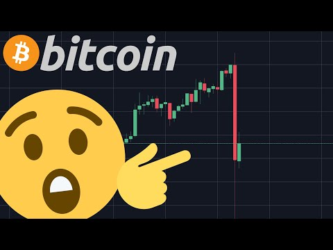 WHAT JUST HAPPENED TO BITCOIN???