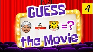 Can You Guess All The Movies? | Emoji Challenge 4 😃