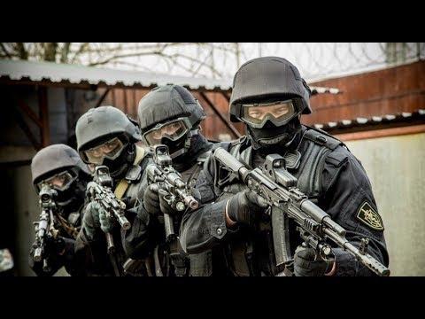 FBI Спецназ берет штурмом
