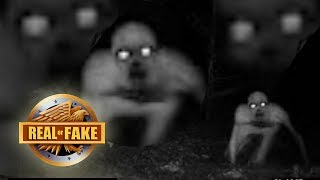 4 SCARY EVIL MONSTERS  - real or fake?