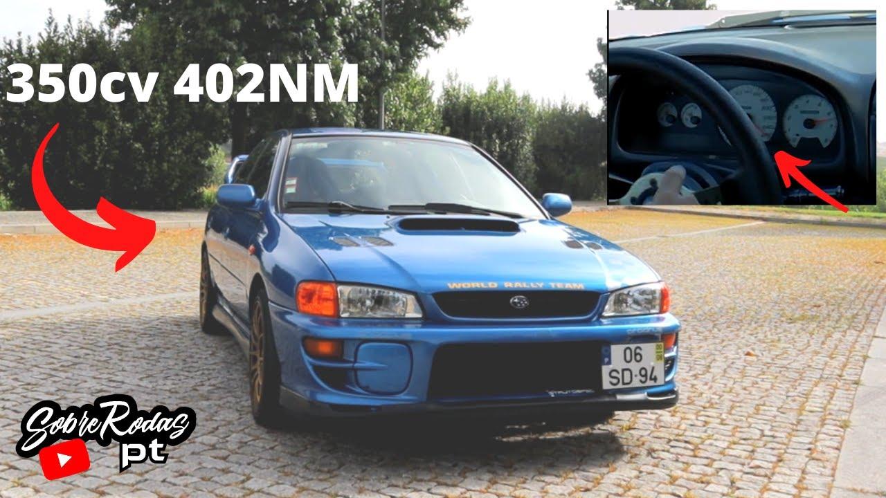 """Um """"velho"""" e bom Subaru com 350cv"""