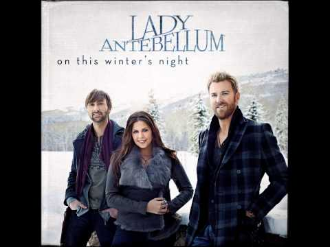 On This Winter's Night by Lady Antebellum (Album Cover) (HD)