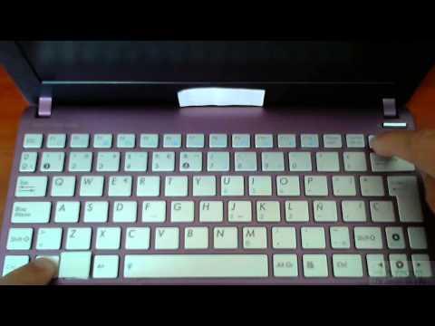El teclado escribe números en lugar de letras