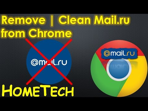 How to remove Mail.ru virus from Chrome on your computer laptop