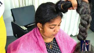 Buy Indian Women Hair Now at 40 percent discount : Epic Long to short hair Cut Video Compilation
