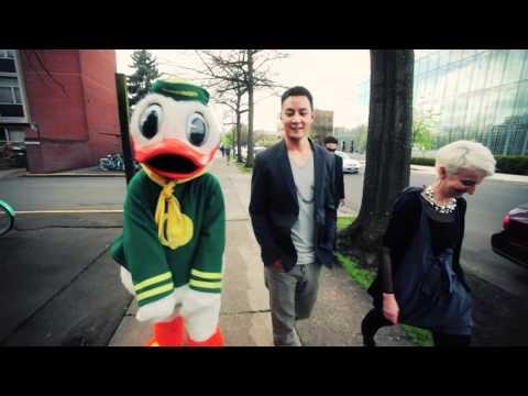 Daniel Wu visits the University of Oregon