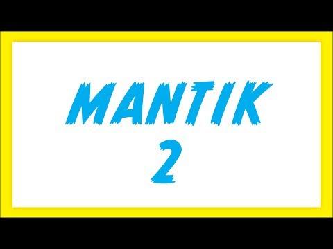 Mantik 2 Şenol Hoca Matematik