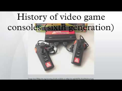 history of video game consoles sixth generation youtube