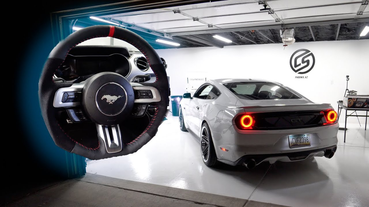 Alcantara Factory Steering Wheel Upgrade