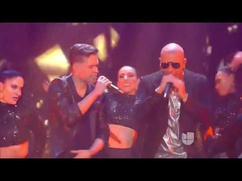 Opening live Shows Final La Banda ft Wisin