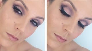 Drugstore Purple Cut Crease : Get Ready with Me! Thumbnail