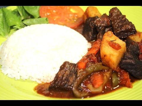 HOW TO COOK REAL JAMAICAN BEEF STEW RECIPE