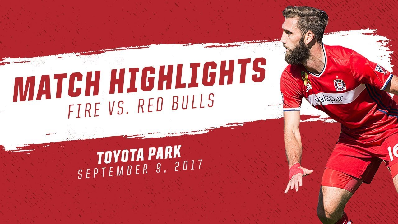 Chicago Fire 1-1 New York Red Bulls