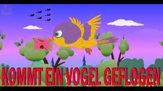Kommt ein Vogel geflogen + 36 min deutsche Kinderlieder | Kinderlieder sum Mitsingen