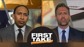 How long is Kyrie Irving going to play for the Celtics? | First Take | ESPN