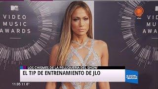 Los tips de entrenamiento de Jennifer López