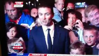 Roll up man live on sky sports news