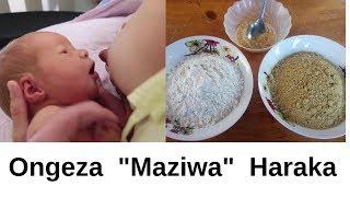 """Dawa ya Kuongeza """"Maziwa"""" Haraka"""