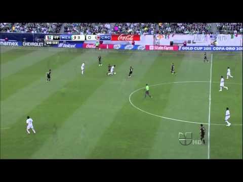 Mexico vs. Costa Rica (4-1) 2011 CONCACAF Gold Cup