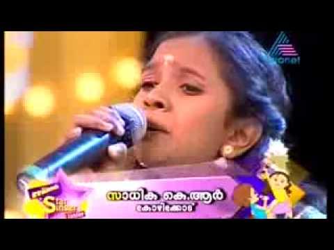 Munch Star Singer Junior Sadhikha Sweet Malayalam Round