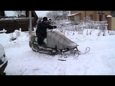 видео: Самодельный снегоход. Своими руками (Трошев Степан)