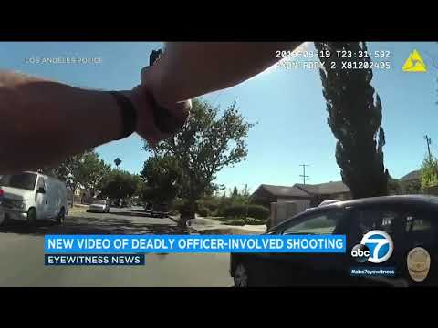 Bodycam: LAPD Releases Video Of Fatal Officer-involved Shooting In Pacoima | ABC7