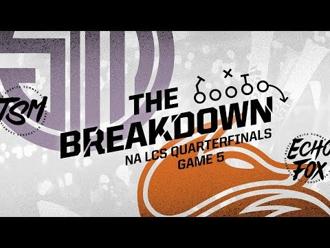 The Breakdown w/ Zirene & Akaadian: How TSM Defeated FOX w/ Vision Control (NA LCS Quarterfinals)