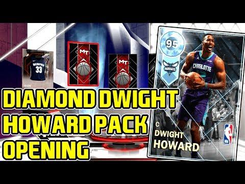 DIAMOND DWIGHT HOWARD IS A GEM! PACK OPENING! CLUTCH DIAMOND PULL! NBA 2k18 MYTEAM