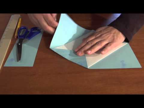 How to Make a 8.5-inch by 5.5-inch Envelope