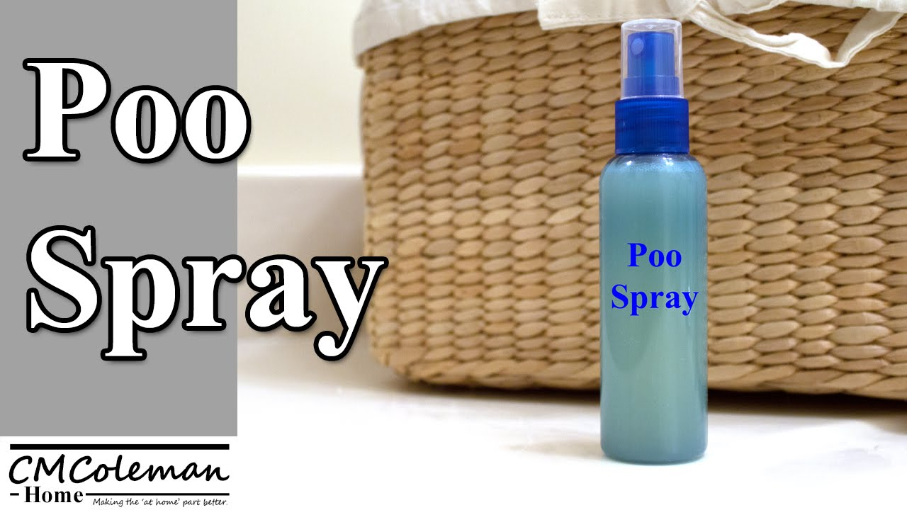 make your own poo pourri spray youtube. Black Bedroom Furniture Sets. Home Design Ideas